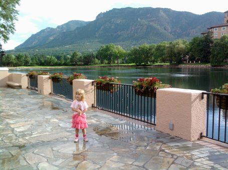Reagan at the Broadmoor