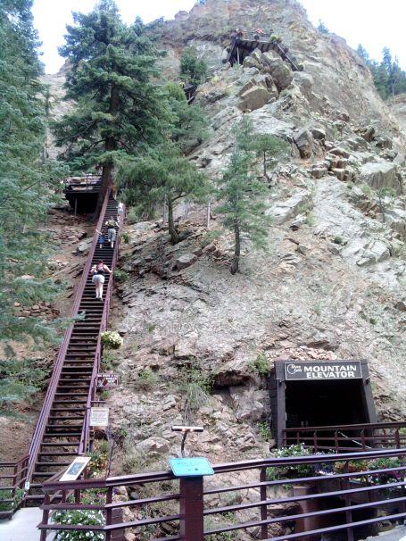 Elevator at Seven Falls